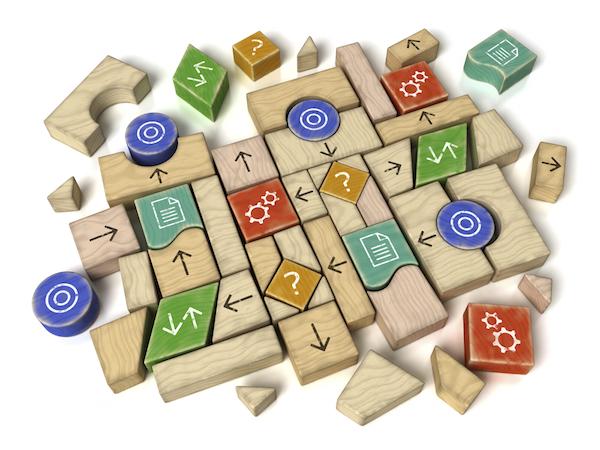 Business Model blocks - small